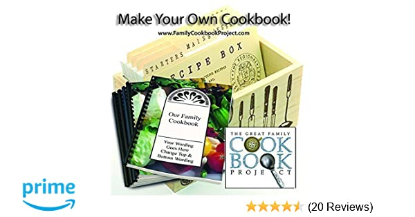 amazon com family cookbook project software create personalized