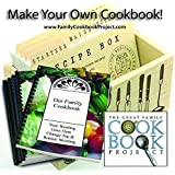 Family Cookbook Project Software - Create Personalized Recipe Book with Layout Options, Photos and Stories - Quick, Convenien