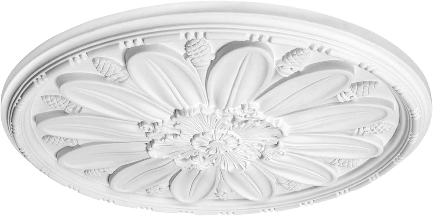 1 Piece Rose PU Shockproof Resistant Perfect 760x760mm B3042