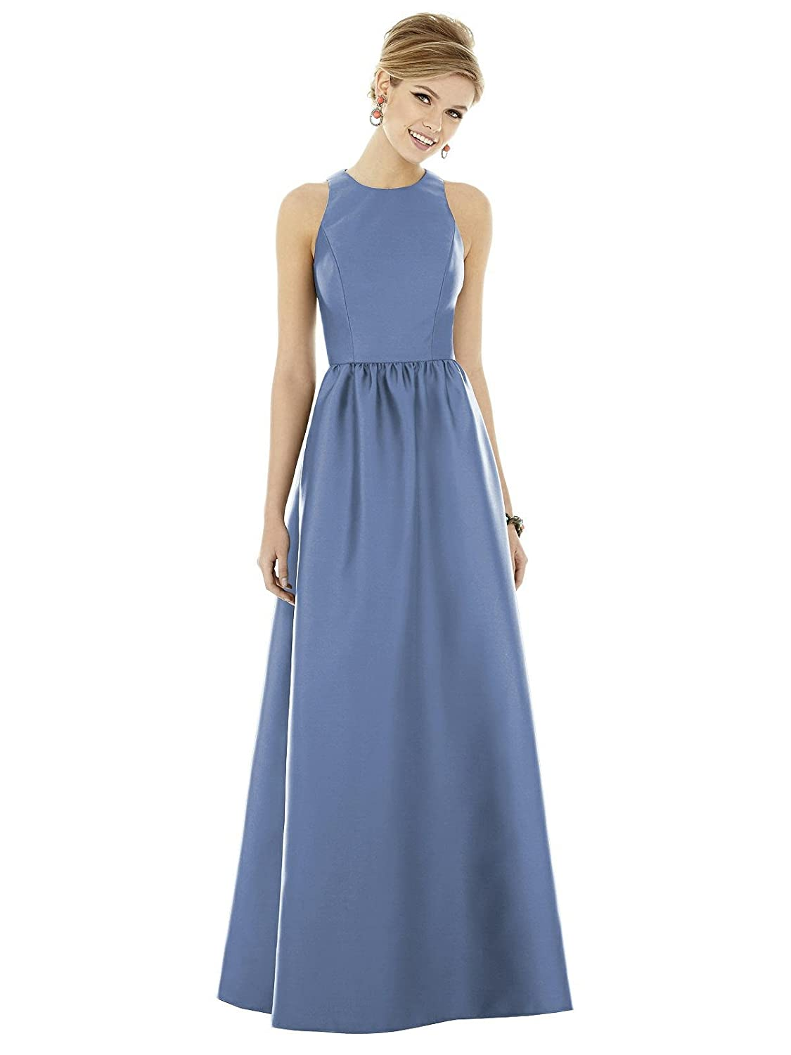 d710801805 CLASSIC SATEEN BRIDESMAID DRESS - Incredibly soft and very smooth, the  elegant satin- like finish has a luxuriously glossy sheen and a moves  easily with the ...