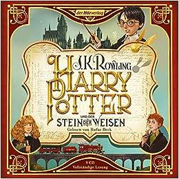 1 Harry Potter Und Der Stein Der Weisen Sa Die Jubilaumsausgabe Beck Rufus 9783844537123 Amazon Com Books
