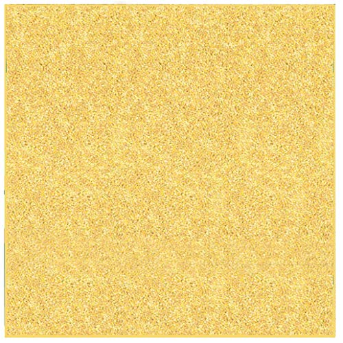 Ambient Rugs Anti Skid Plush Indoor Solid Color Area Rug Many Other Sizes to Choose from Yellow - 6' Square
