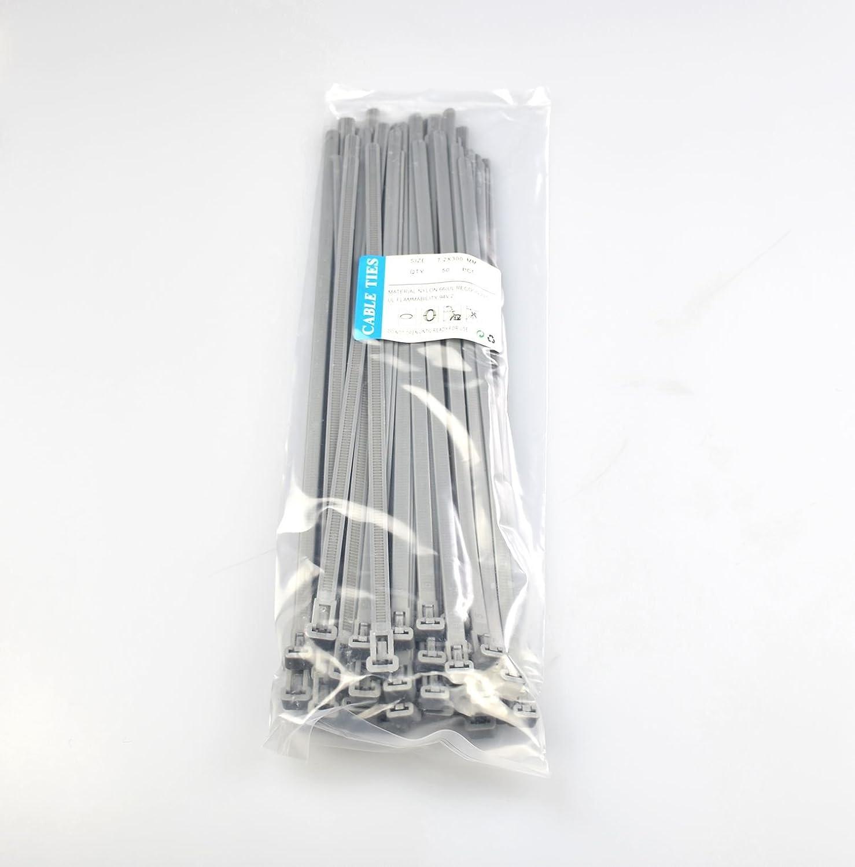 50 pi/èces... Les attaches de c/âble amovible blanc 7.2mmx300mm