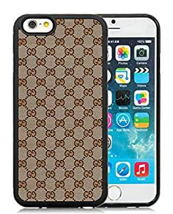 Fahionable Custom Designed iPhone 6 4.7 Inch TPU Cover Case With Gucci 17 Black Phone Case