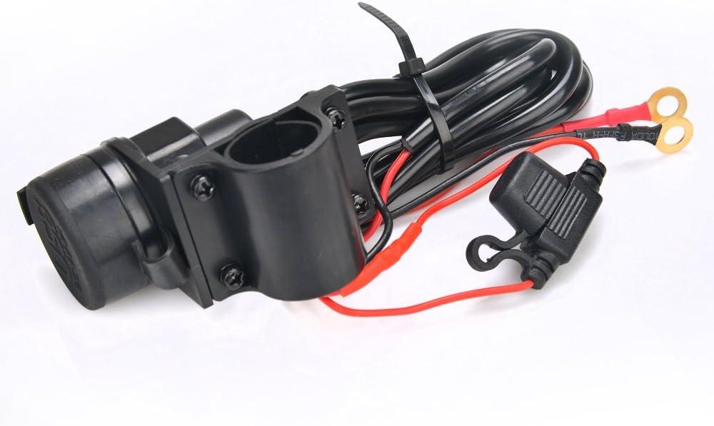 Hochwertiger Motorrad Motor Wasserdicht Dual Usb Netzteil 5v 2 1a Steckdose Ladegerät Elektronik
