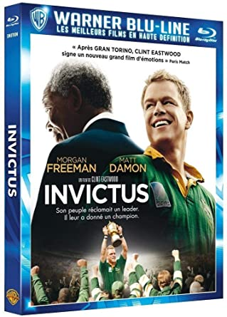 4f5d990a24e14 Invictus [Blu-ray]: Amazon.fr: Morgan Freeman, Matt Damon, Tony ...