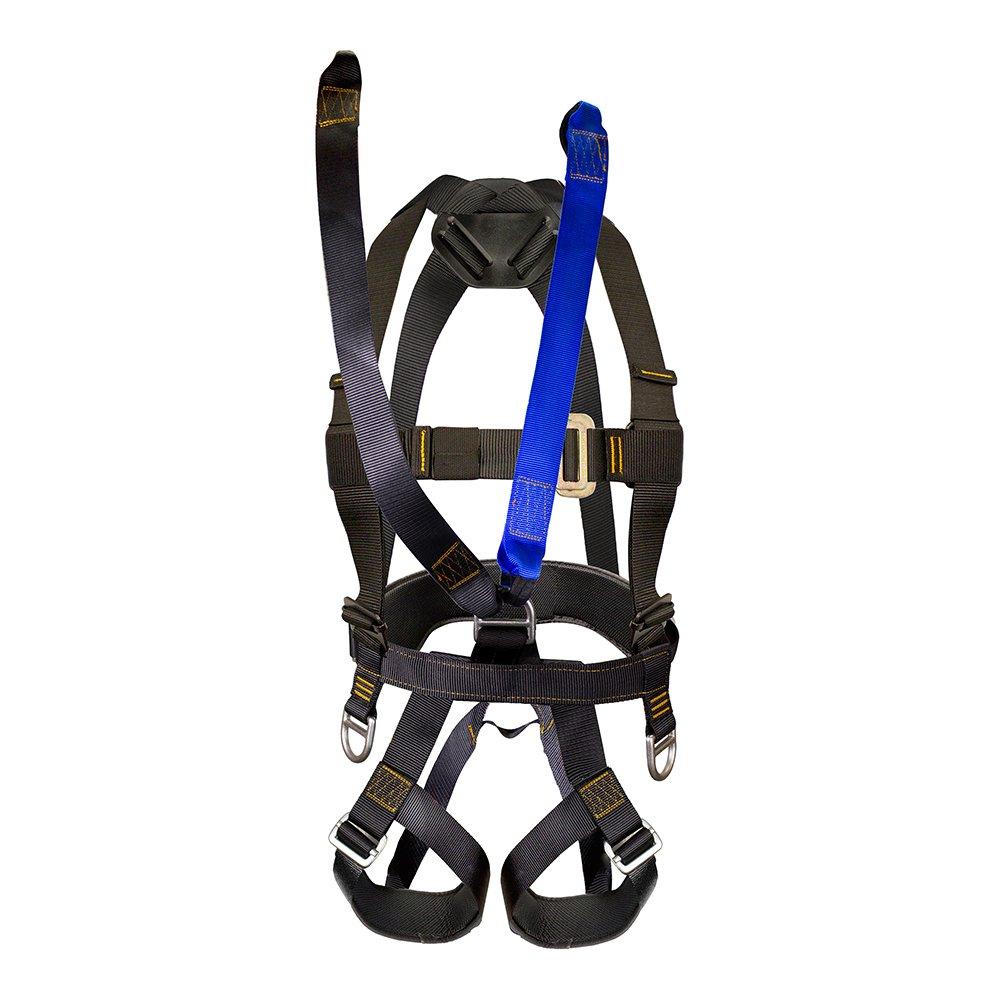 Fusión Climb Guía Mettica cuerpo completo reforzado con cuerda de ...