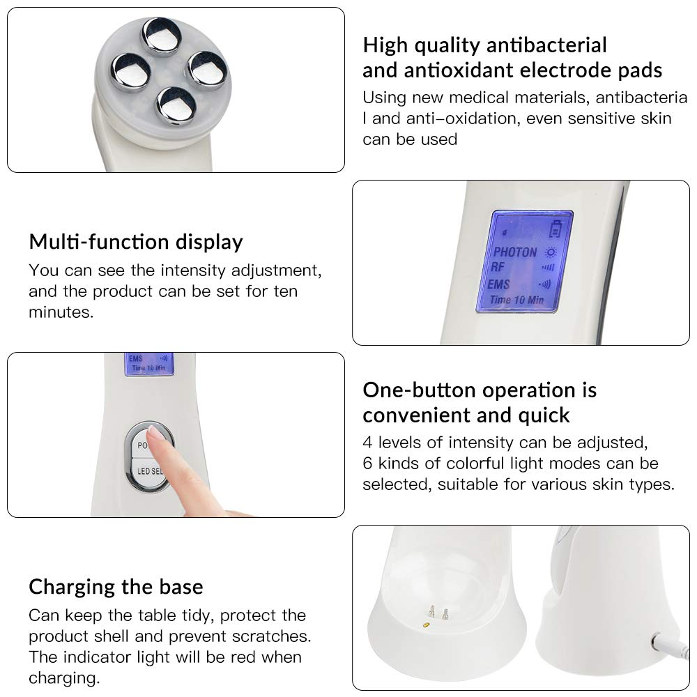Face Machine for Women-White: Beauty