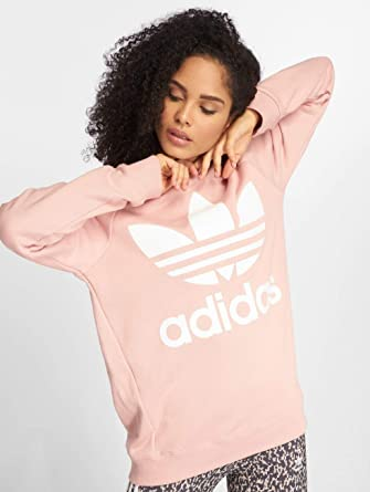 Damen Pullover In weiß | adidas originals Pullover Oversized