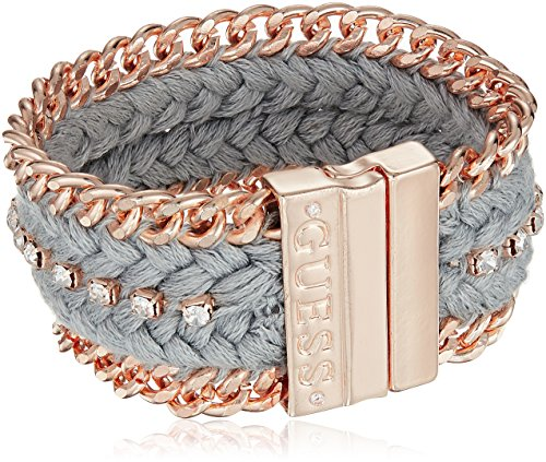 Guess Love Struck Women's Magnetic Bracelet W Stones, Rose Gold, One (Stones Gold Magnetic Bracelet)