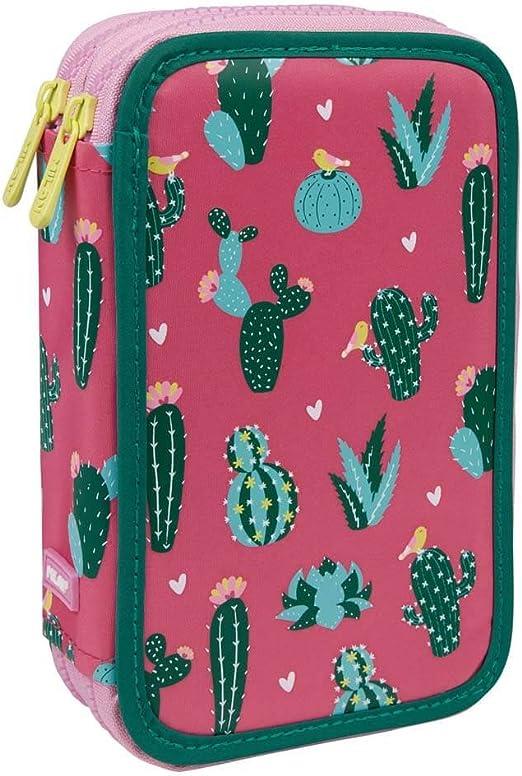 Estuche Milan Cactus Doble 36 Piezas: Amazon.es: Oficina y papelería