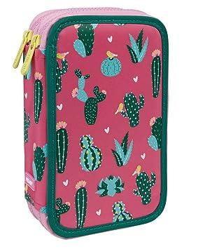Estuche Milan Cactus Doble 36 Piezas: Amazon.es: Oficina y ...
