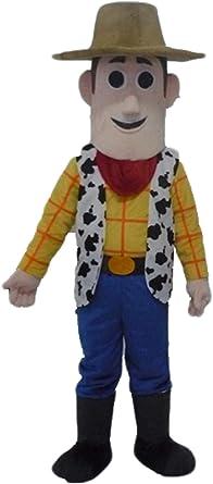 new  Toy Story Woody Character Cowboy Cartoon Mascot Costume Fancy Dress