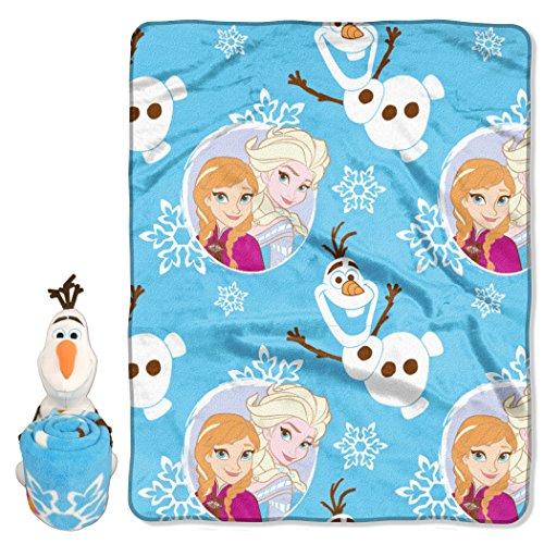 Disney Frozen, Blizzard Boy Hugger & Fleece Throw Set,