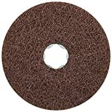 PFERD 48128 Combiclick Non-Woven Disc, Soft Type, 4'' Diameter, 12,000 RPM, Fine Grit (Pack of 10)