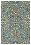Kaleen Rugs Middleton Collection MID05-78 Turquoise Hand Tufted 9' x 12' Rug