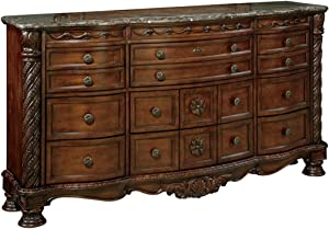 Signature Design by Ashley North Shore Dresser, Brown