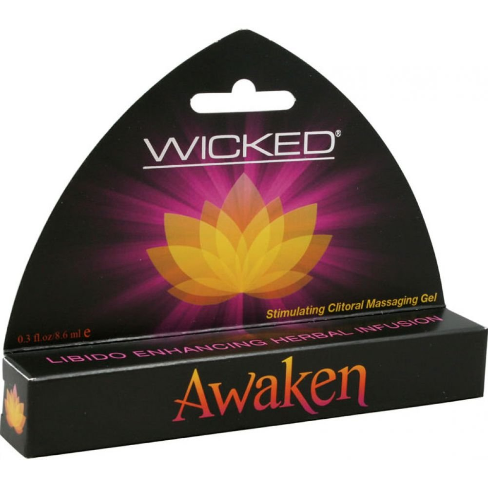 Wicked Sensual Care Awaken Stimulating Clitoral Massaging Gel - .3 oz:  Amazon.com.au: Health & Personal Care