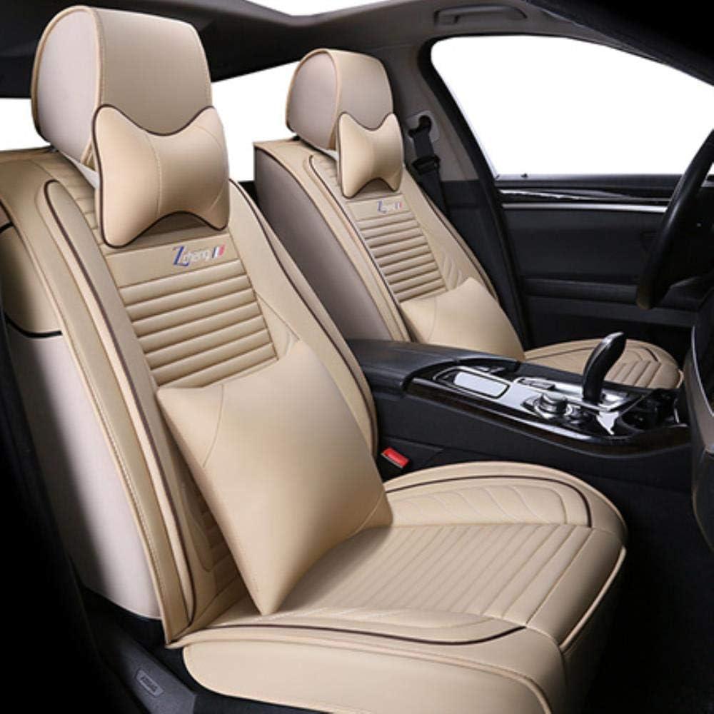 LUOLONG Car Seat Cover PU Housse De Si/ège Auto Universel en Cuir pour Mazda Tous Les Mod/èles Cx5 Cx7 Cx9 Mx5 Mazda Atenza 2//3//5//6//8 Autocollant Style Voiture Standard Noir
