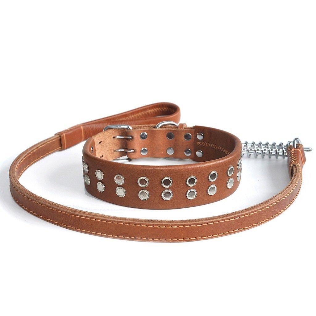 Arneses de Perro Collar de Cuerdas de tracción de Cuero para ...