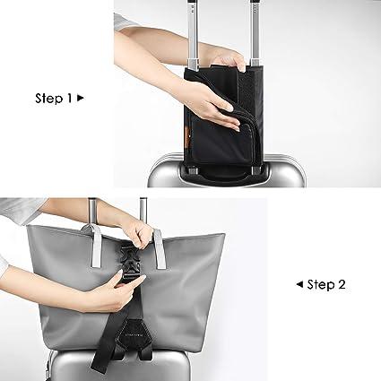 FOREGOER Lightweight Travel Carry-on Luggage Straps Bag Bet Suitcase Accessory Adjustable Belt Bag for Tote Duffel Bag