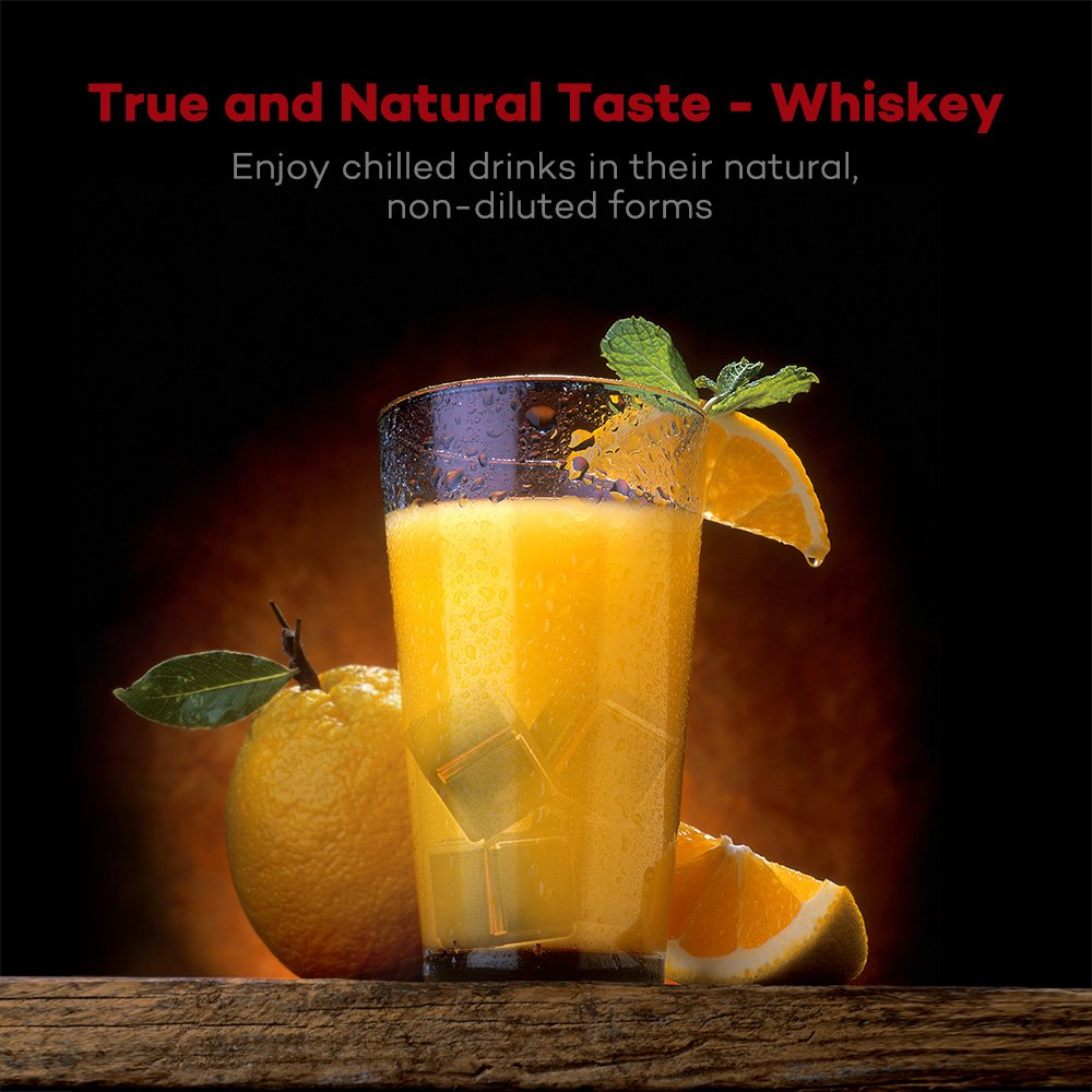 Amazon.com: taotronics stainless steel whiskey stones, reusable ...