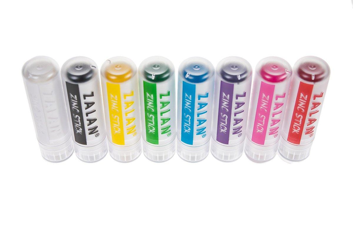 Amazoncom Zalan Zinc Stick Colored Zinc Sticks For Face And Body