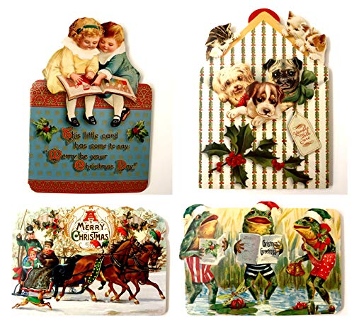 Buy victorian christmas card