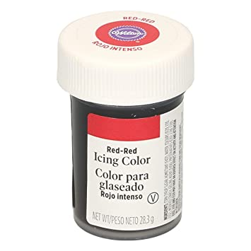 Amazon.com : Wilton Red Gel Food Colouring - For Cakes and ...