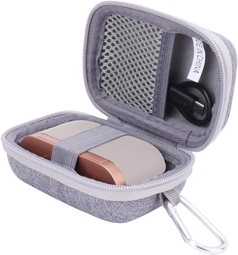 جراب Aenllosi صلب لحمل سماعات أذن سوني WF-1000XM3 اللاسلكية حقًا (رمادي)