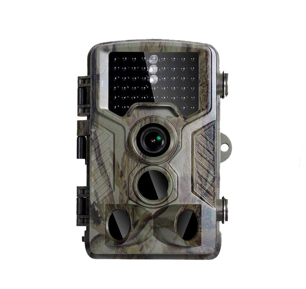 熱い販売 最新型トレイルカメラ 自動防犯カメラ 1600万画素 2.4液晶モニター 1080P フルHD 120°検知範囲 動体検知 暗視撮影 赤外線 野生動物 留守電池式 監視カメラ 屋外 野外 IP56防水   B07Q58DG6W, ジェイエムイーアイ 204b9fca