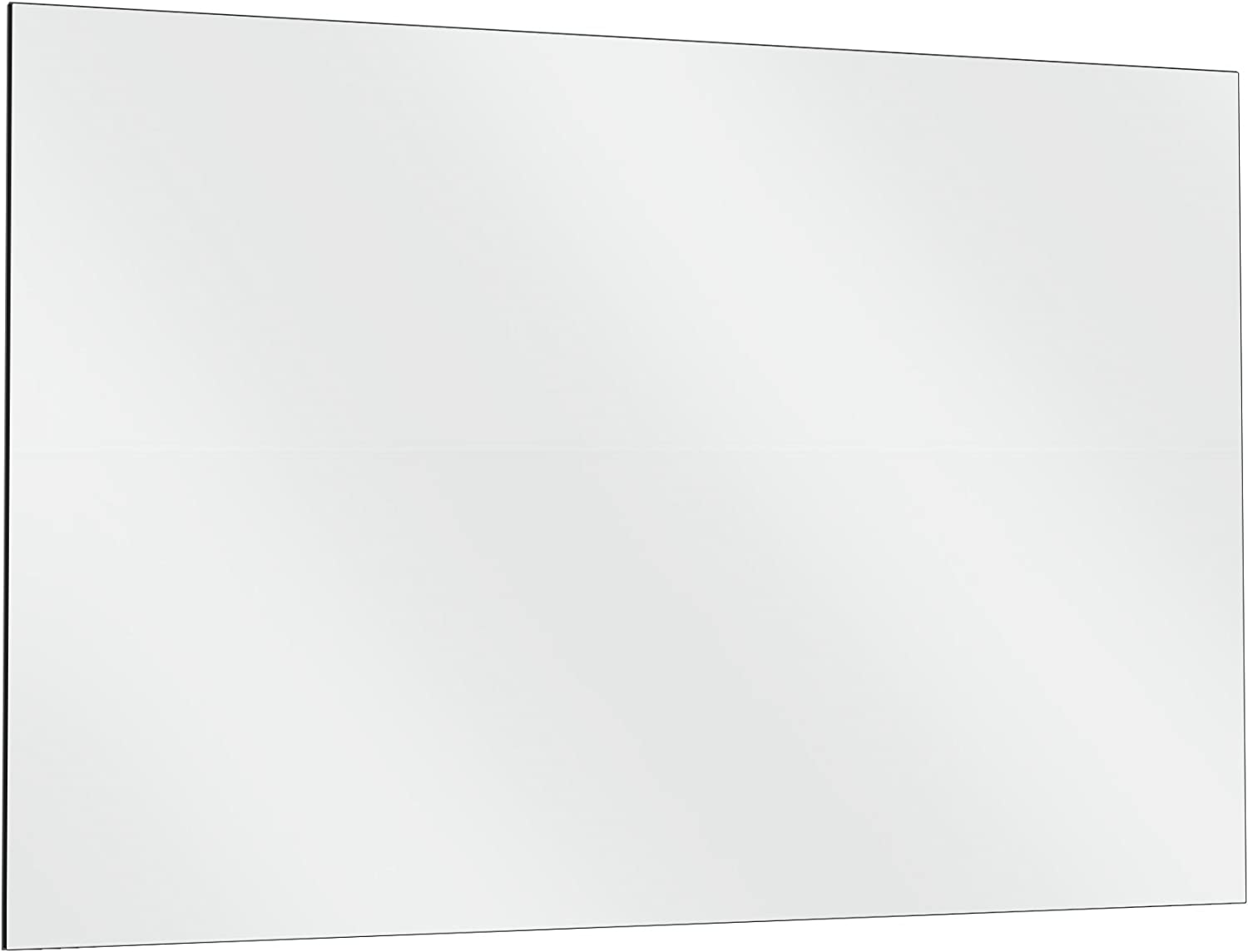 Fab Glass and Mirror GM48x60 Activity Mirror Kit for Gym & Dance with Safety Backing, 48