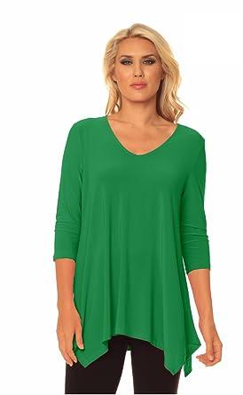 fd8d7ce07c9760 Alisha.D Travel Wear Tunic Summer Colors at Amazon Women's Clothing ...