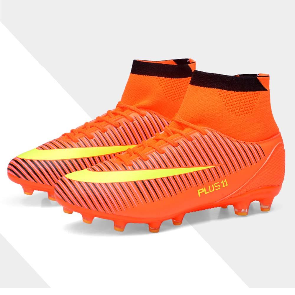 big horse High Top Chaussures de Football Homme,Professionnel Chaussure de Foot Antid/érapant Athl/étisme Entrainement Adolescents Chaussures de Sport