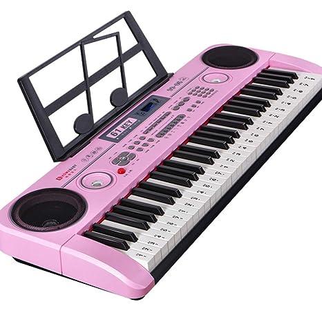 KYOKIM Teclado Electrónico De 61 Teclas, Música Digital, Teclado De Gran Peso para El