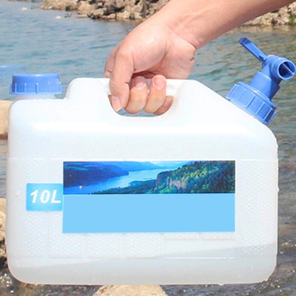 Depruies Bucket PE Bucket Outdoor Car Drinking Water Barrel Self-Driving Water Storage 10L/15L/18L/23L