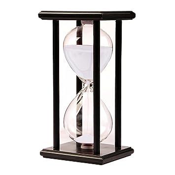 Madera Reloj De Arena Reloj De Arena 45 Minutos Color Blanco Y