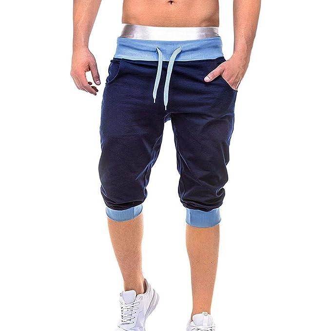 MXJEEIO💖Pantalones Cortos Hombre, Pantalones de chándal de Hombre ...