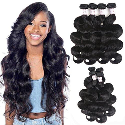 Brazilian Virgin Hair Body Wave 4 Bundles (16