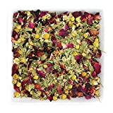 Tealyra – Botanic Bouquet – Hibiscus – Chamomile – Lemon Verbena – Herbal Loose Leaf Tea – Calming and Relaxing Bed Time – Caffeine Free – All Natural – 112g (4-ounce) Review