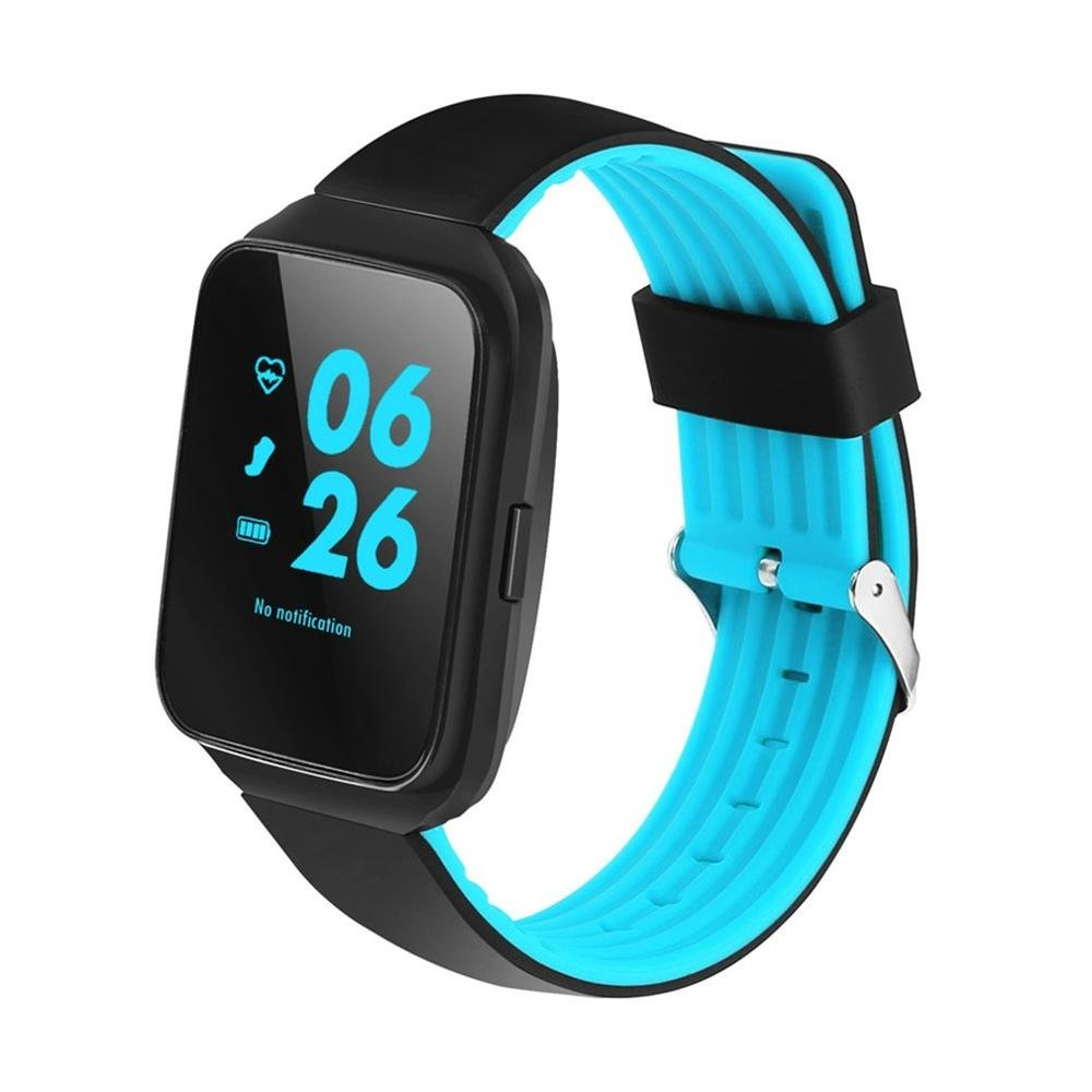 Amazon.com : CHANGSHENG 1.54 inch IPS Z40 Smart Watch Bluetooth Music Blood Pressure Heart Rate Monitor Call Message Reminder Pedometer Smart Wristband ...