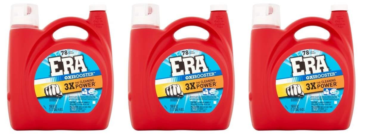 Era Oxibooster Liquid Laundry Detergent, 78 Loads 150 fl oz (3)