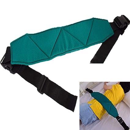 RANRANHOME Rollo cinturón de sujeción Cama Ajustable Silla de Ruedas cinturón de Seguridad tamaño Universal Correas