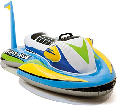 Amazon.com: Intex, salvavidas tipo jet ski para montar, 46 ...