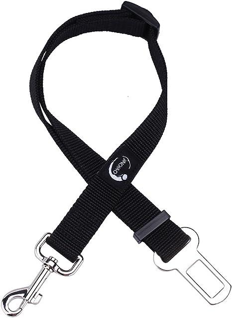 Cane Cintura Di Sicurezza Auto per Cani Animale Domestico Durevole Guinzaglio 19-31 Pollici Regolabile Nero