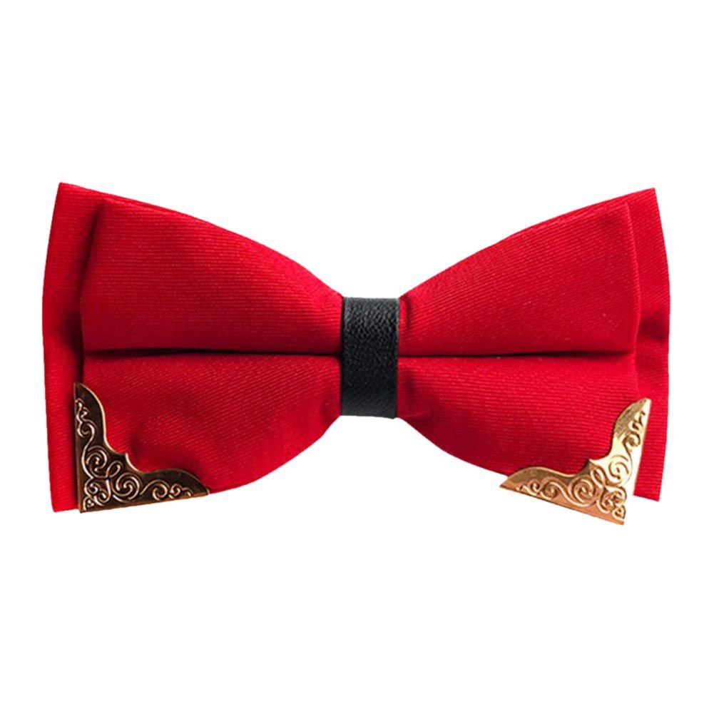 Forart Classic Pre-Tied Bow Tie Formal Solid Tuxedo for Mens Womens