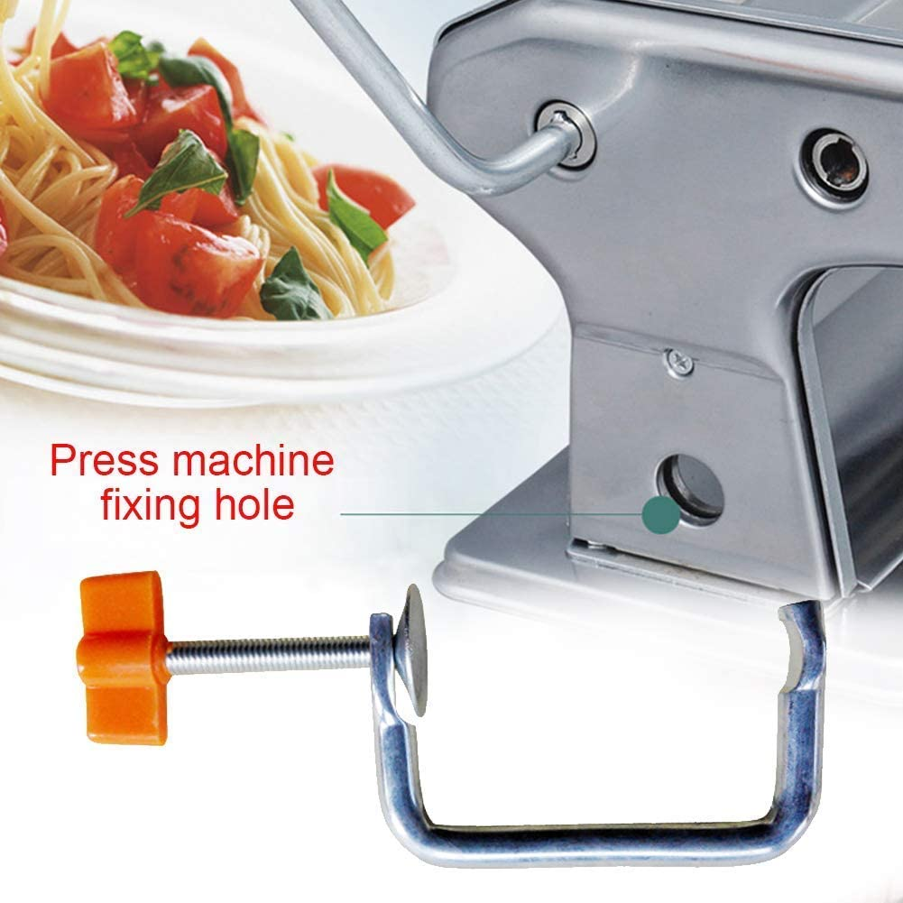Handle Pasta Machine Holder Replacement Durable Manual Metal Fixing Noodle Maker Clip Home Accessories Kitchen Handle Handheld Tool Parts