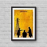 Seven Minimalist Poster Se7en Alternative Cult Movie Print David Fincher Film Brad Pitt Kevin Spacey Morgan Freeman Dedective Mills Somerset Home Decor Cinema Artwork Wall Art Hanging Cool Gift
