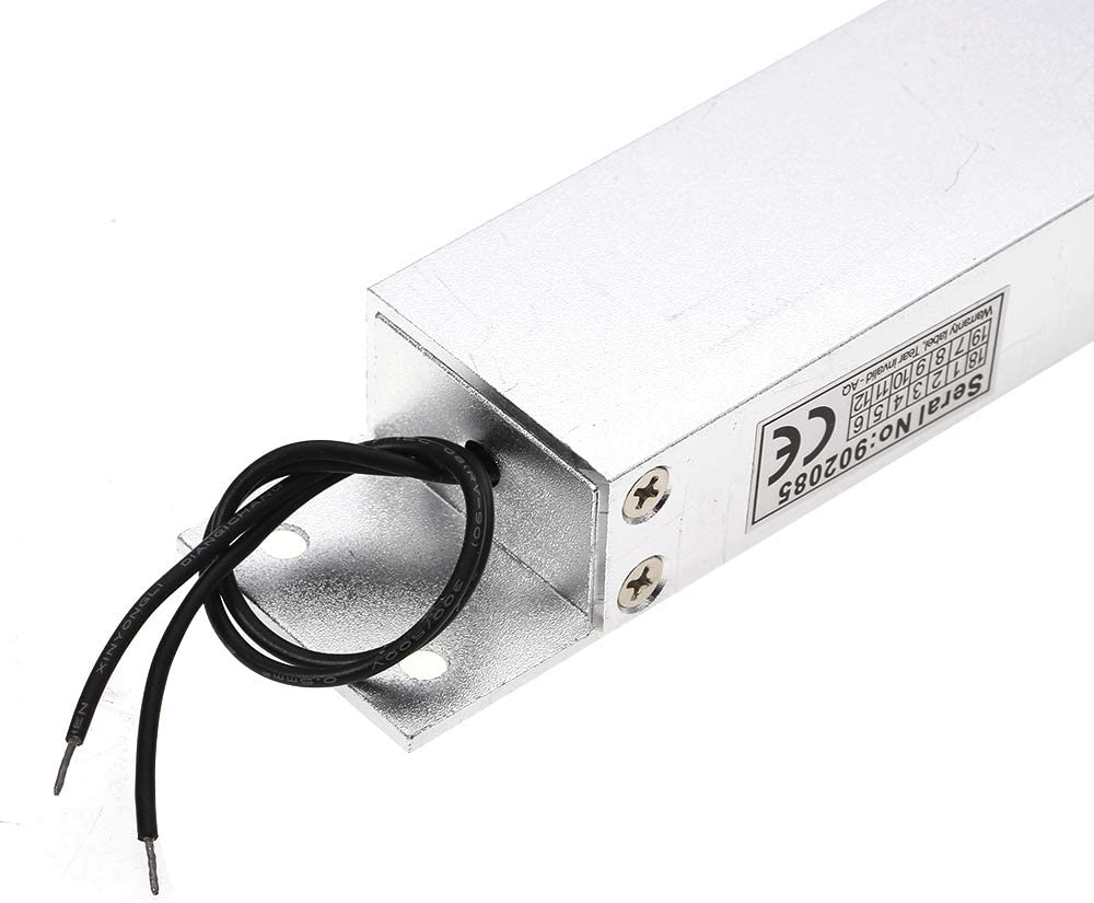 Single Door 12V Electric Magnetic Electromagnetic Lock 350KG Tensile Force for Access Control