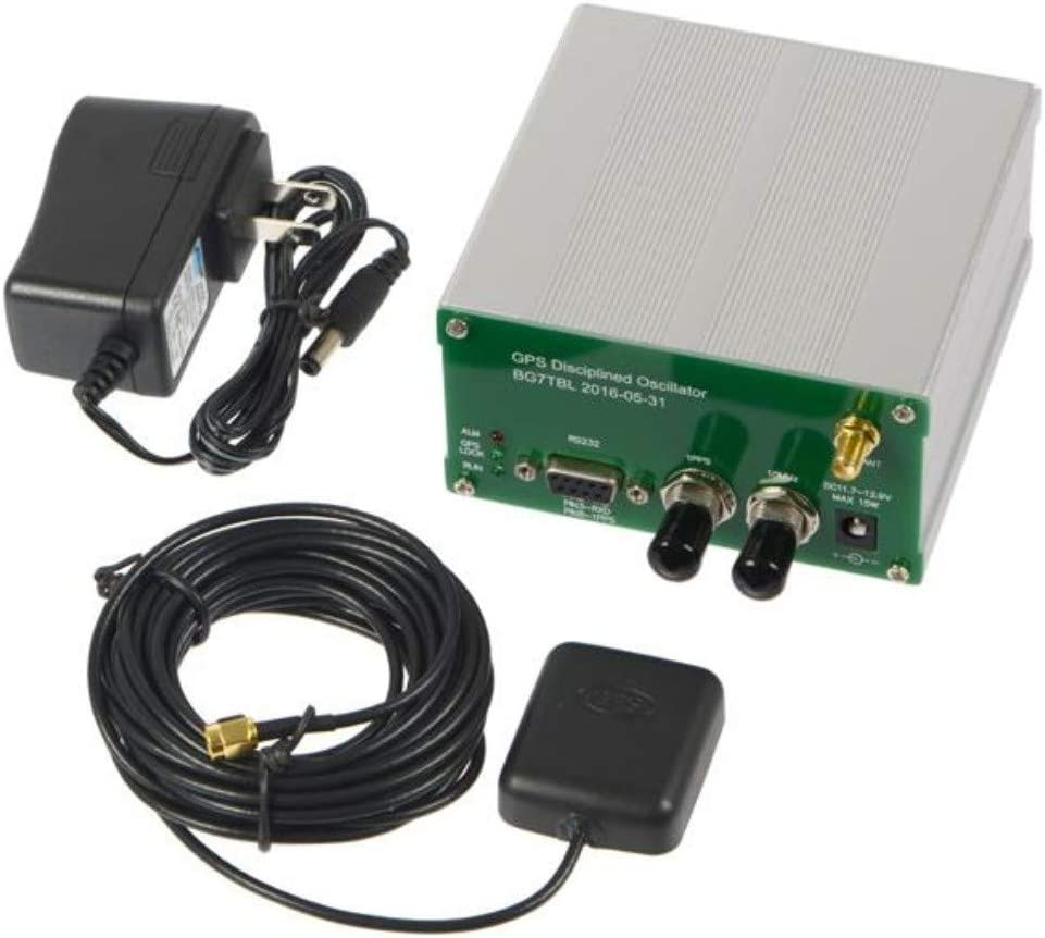 Adoner 10MHZ Output Sine Wave GPS Displined Clock GPSDO GPS Antenna Power Supply